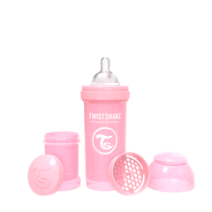TWISTSHAKE MAMADERA ANTI-CÓLICOS 260ML 2+M