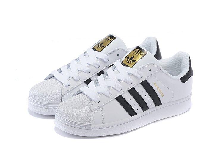 735b763bd24 Tênis Adidas Superstar Branco preto - Tênis King