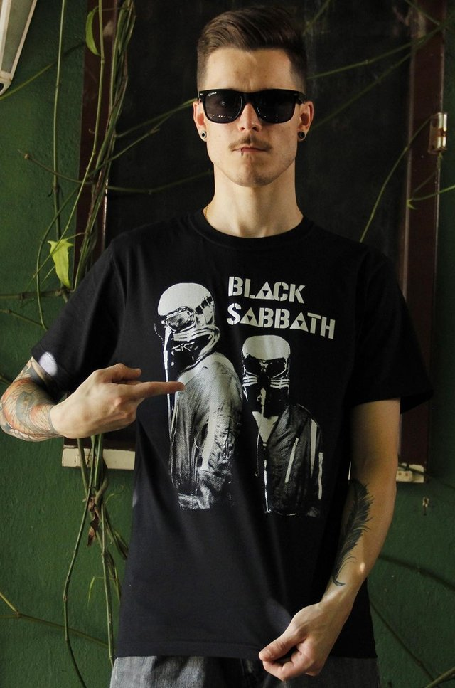 BLACK SABBATH T-SHIRT BÁSICA