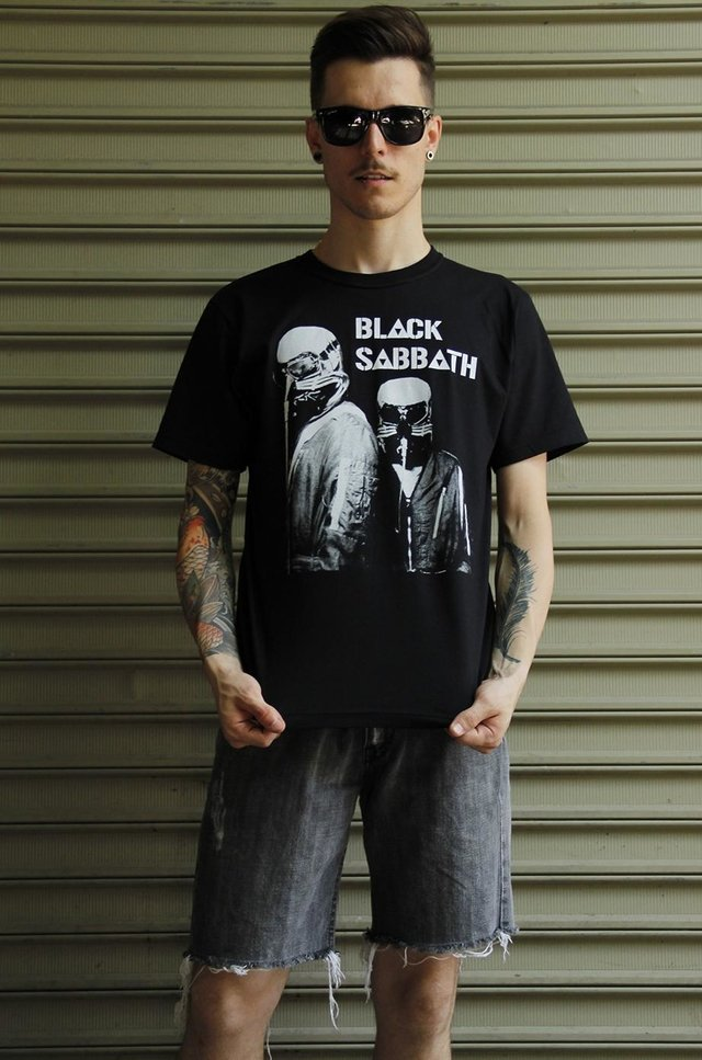 BLACK SABBATH T-SHIRT BÁSICA na internet