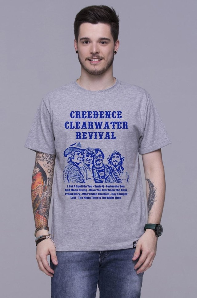 CREEDENCE CLEARWATER REVIVAL T-SHIRT - comprar online