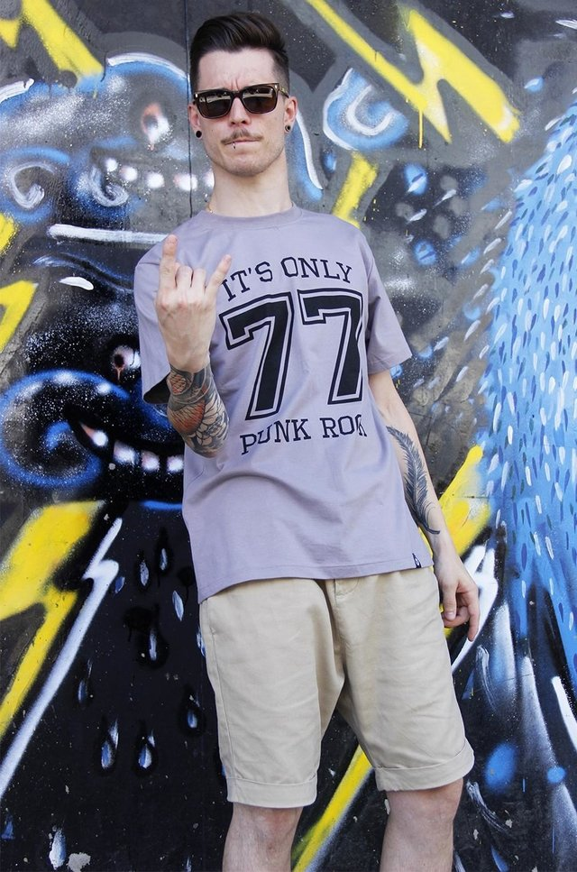 PUNK ROCK 77 T-SHIRT - comprar online