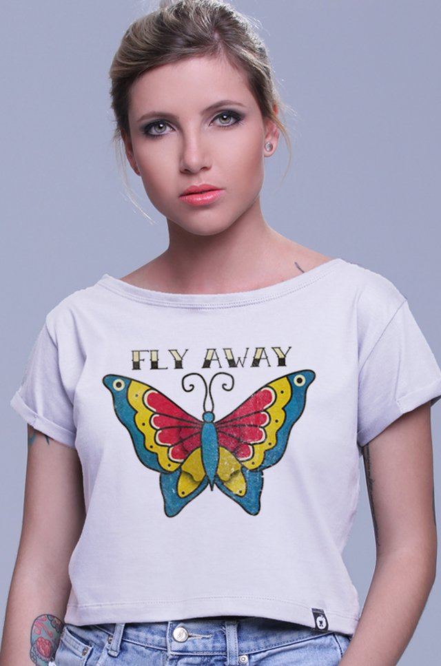 BLUSA CROPPED FLY AWAY