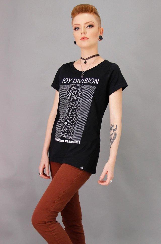 e33c88a61 atacado t-shirts feminina 20und com pedras evangélica gospel. Carregando  zoom. ... JOY DIVISION T-SHIRT FEMININA - comprar online .