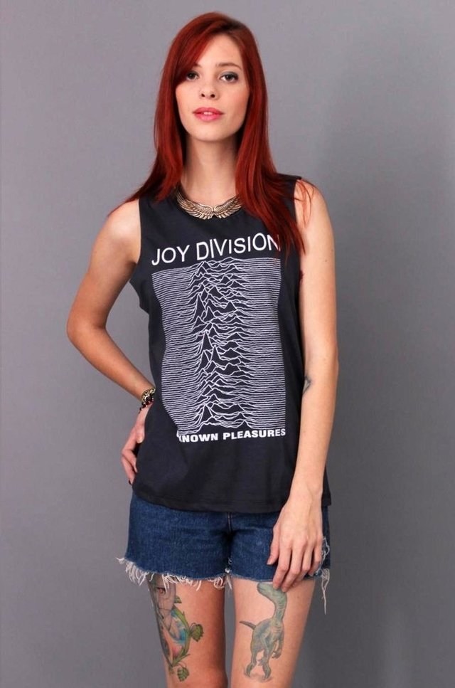 JOY DIVISION REGATA BOYFRIEND atacado - Rocket Camisetas