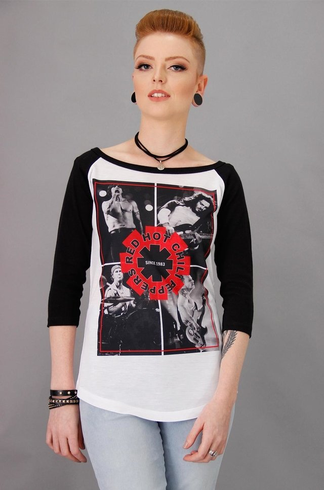 RED HOT CHILI PEPPERS RAGLAN FEM 3/4