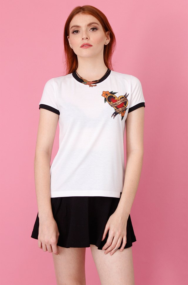 LONELY HEARTS RINGER TEE