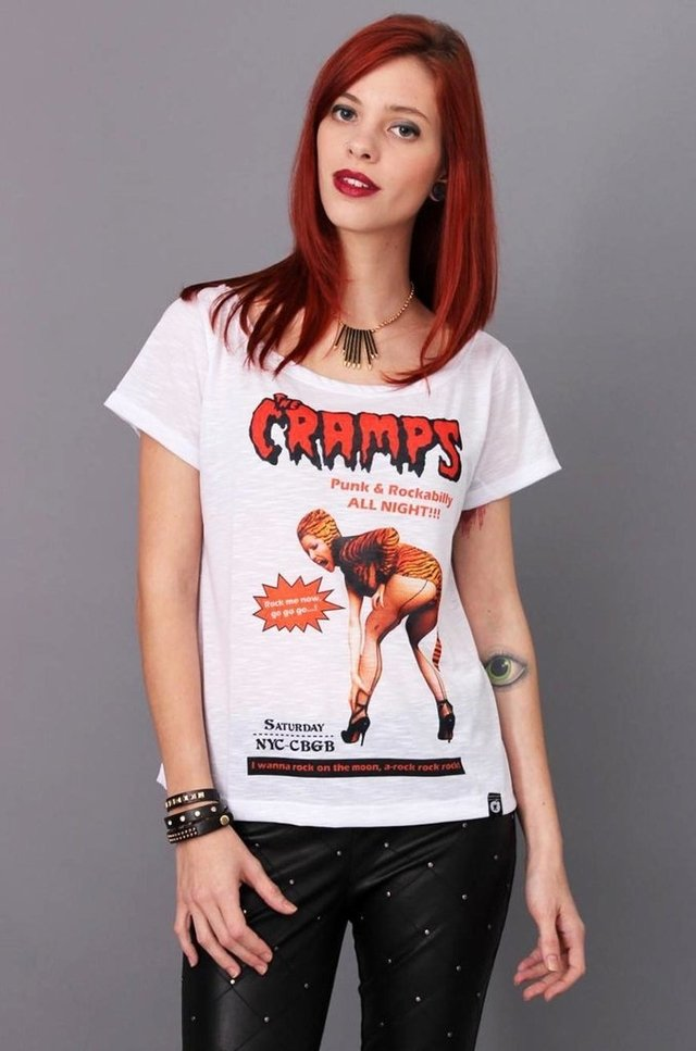 THE CRAMPS GOLA CANOA atacado
