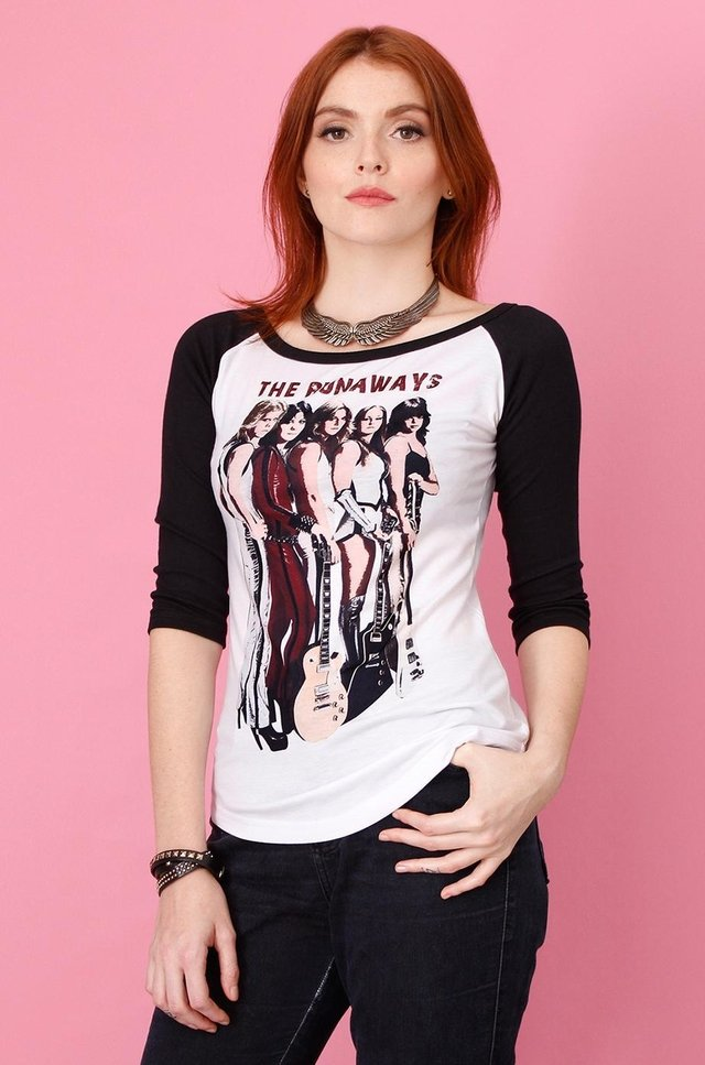 THE RUNAWAYS RAGLAN 3/4 FEMININA