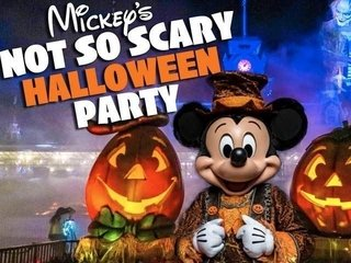 Mickey's Not So Scary Halloween Party 2019 - Setembro