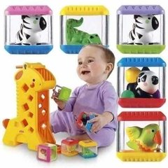 Girafa Blocos Surpresa Fisher Price - comprar online