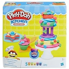 Conjunto de Massinha Play-Doh Bolos Decorados