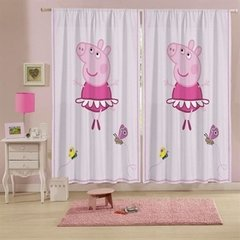 Cortina Peppa 3,00 x 2,20 m Lepper Kids