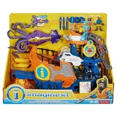 Imaginext Navio Comando Do Mar - Fisher Price
