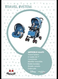 Coche Travel System art. 3243TS