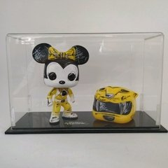 Toyart Funko Custom Minnie Yellow Ranger