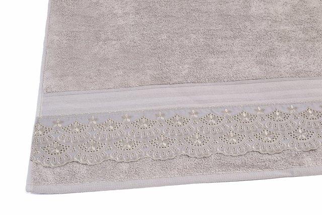241302f8f9 ... Jogo de Toalha de Banho 5 peças Liso Cristal Cadence Bege Bouton - comprar  online