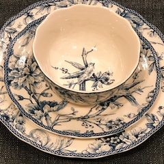 Bowl blue dove