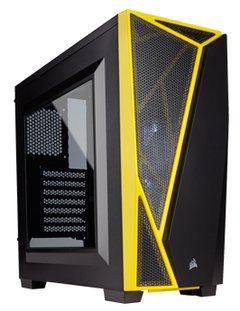 CORSAIR CARBIDE SPEC-04 BLACK YELLOW MID-TOWER
