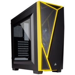 CORSAIR CARBIDE SPEC-04 BLACK YELLOW MID-TOWER - comprar online