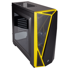 CORSAIR CARBIDE SPEC-04 BLACK YELLOW MID-TOWER en internet
