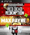 COMBO RED DEAD REDEMPTION - MAX PAYNE 3 - FIFA 16 -DIGITAL-