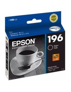 CARTUCHO ORIGINAL EPSON 196 NEGRO 5ML