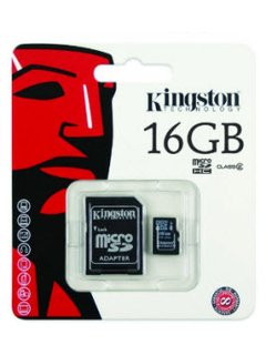 MEMORIA MICRO SD KINGSTON 16GB CLASE 4