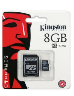 MEMORIA MICRO SD KINGSTON 8GB CLASE 4