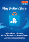PSN CARD USA 60 USD