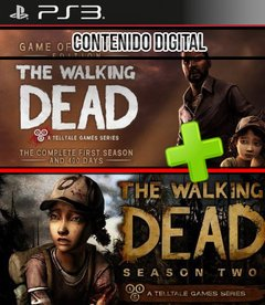 THE WALKING DEAD SEASON 1 AND SEASON 2  -DIGITAL-