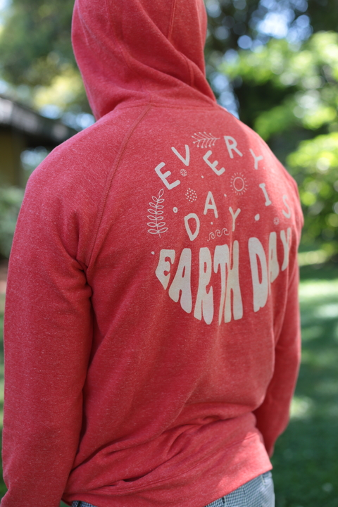 Canguro EARTH DAY Rojo UNISEX