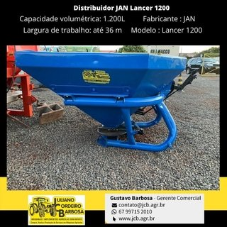 Distribuidor JAN Lancer 1200 - JAN