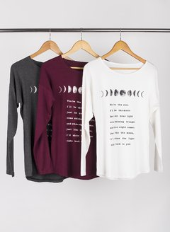 Remera Be The Moon 56141 - tienda online