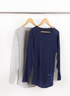 Remera Under The Stars 56278 - Remeras y remerones por mayor | Crema Moda