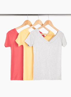 Packs de Remera Bote - Remeras y remerones por mayor | Crema Moda