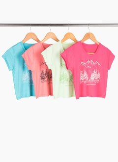 Remera Mountain - Remeras y remerones por mayor | Crema Moda