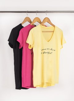 Remerón Escote V Be Your Own Kind 56260 - tienda online
