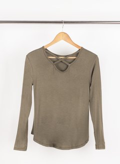 Remera Simple Beautiful c/ tiras cruzadas 56289 - tienda online