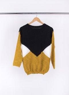 Sweater Tricolor 55031 - comprar online