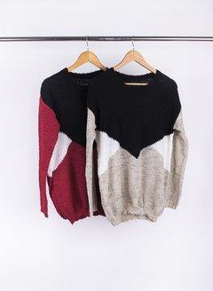 Sweater Tricolor 55031 en internet