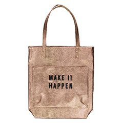 Bolso MAKE IT HAPPEN (Cobre & Negro)
