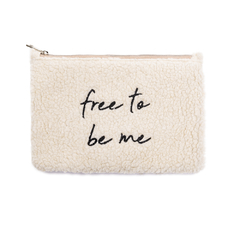 "Bolsito ""Free to Be Me""  Negro"