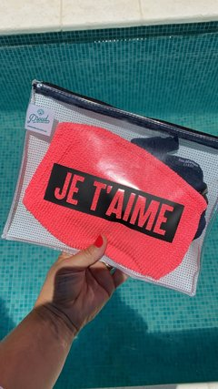Bolsito JE T'AIME - Waterproof 2 colores - comprar online