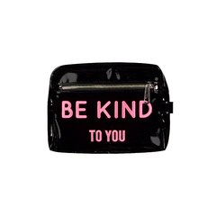 "Sobre ""BE KIND"" (Charol Negro & Fucsia)"
