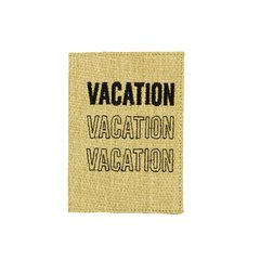 "Porta Pasaporte ""VACATION"""