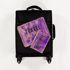 TRAVEL KIT - Tornasol Metalizado & Negro - comprar online