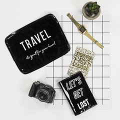 TRAVEL KIT - Charol Negro & Blanco en internet