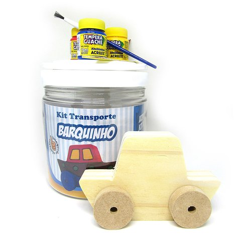 Kit Transporte Barquinho