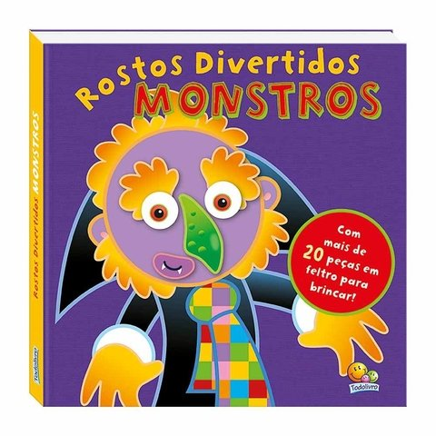 Rostos Divertidos: Monstros!